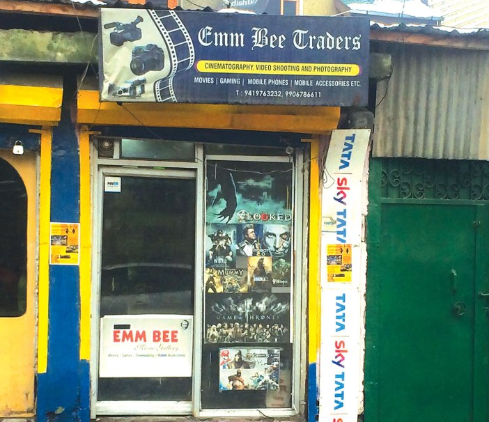 One of the shops that manages content for people in communication lock down.