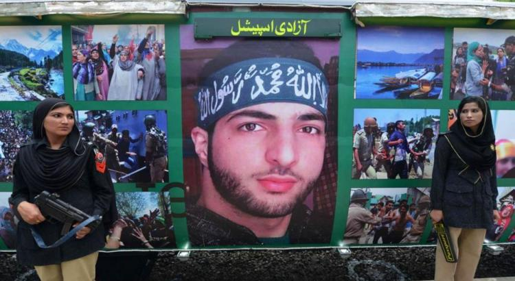 Pakistan's 'Azadi Train' shows Burhan Wani as national hero