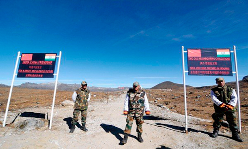 Stone-pelting between Indian, Chinese troops in Ladakh