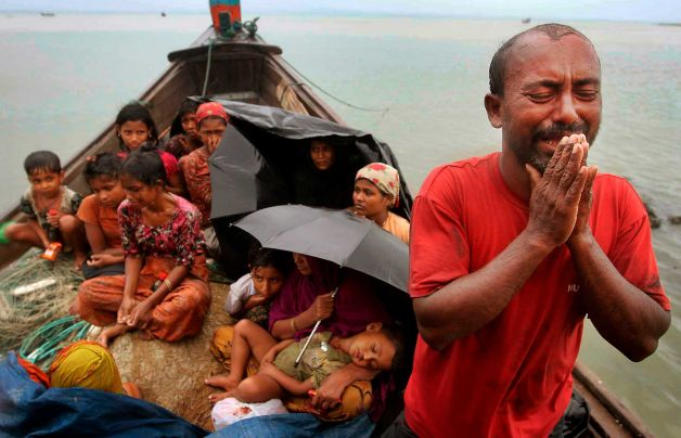 Children among 16 Rohingya Muslims drown fleeing Myanmar persecution