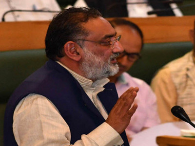Drabu dubs Kashmir a 'social' issue, urges Indian civil society to take note