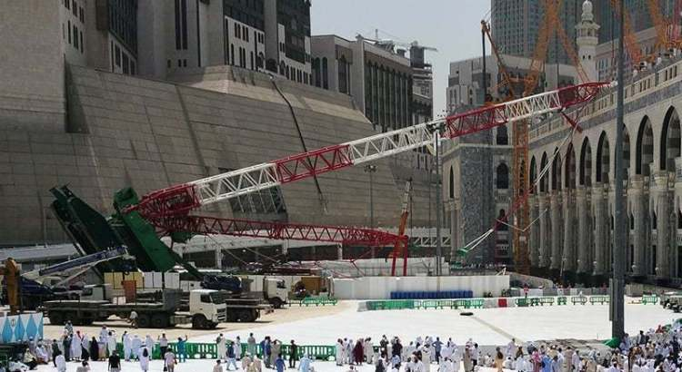 Saudi court acquits 13 accused in Makkah crane crash that killed over 100