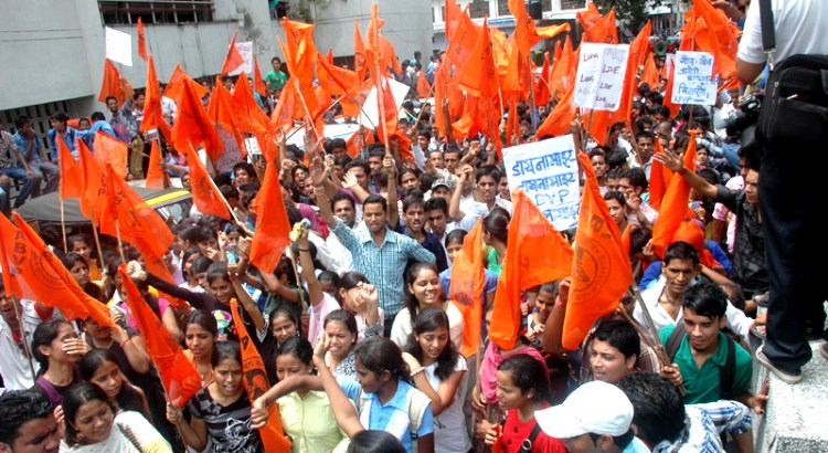 ABVP back in Jamia Milia after four years