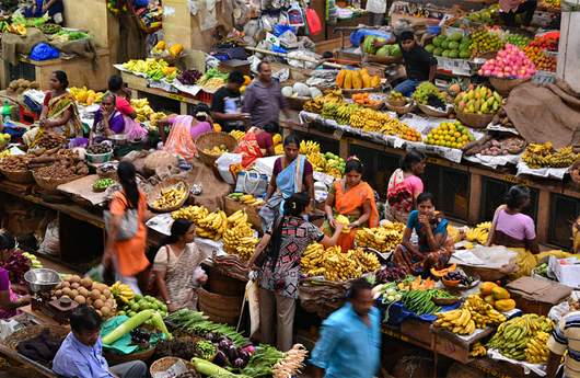 India's wholesale, retail inflation in October highest in months