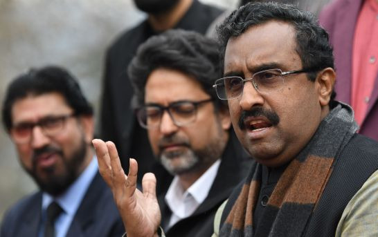 Article 370 Has To Go Lock, Stock, Barrel: Ram Madhav