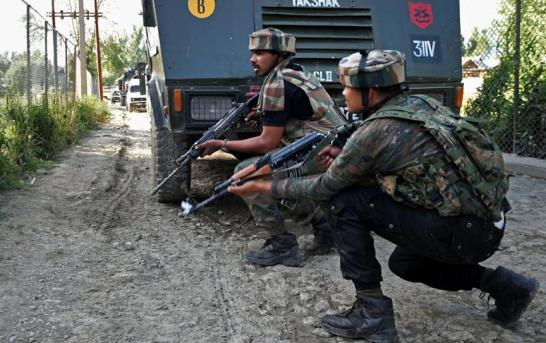 Central Kashmir: Militant Killed In Chadoora Gunfight