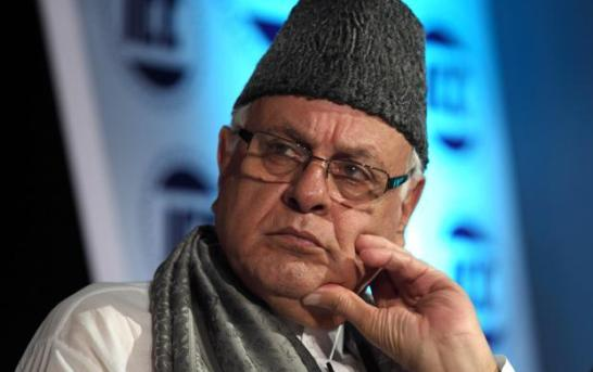 NC MPs Stage Protest In Lok Sabha Over Farooq Abdullah's Detention