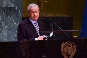 Malaysian PM Raises Kashmir Issue At UNGA