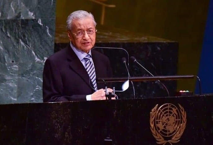 Malaysian PM Raises Kashmir Issue At UNGA