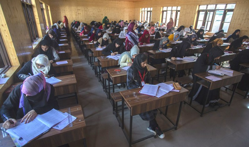 Class 12th Exams Commences In Kashmir Amid Unprecedented Security