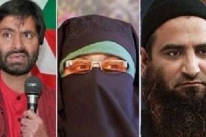 Malik, Asiya & Masarat Now Face 'Terror Funding' Case