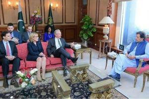 Imran To US Senators: No Talks With India