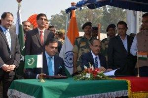 India, Pak Sign Agreement On Visa-Free Kartarpur Corridor