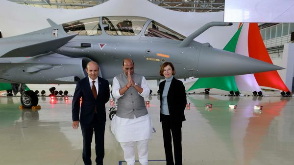 IAF Receives Its First Rafale Fighter Jet From France