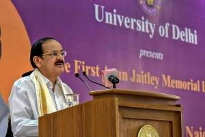 Both Houses Deliberated In Favour Of Abrogation Of Art 370: Naidu