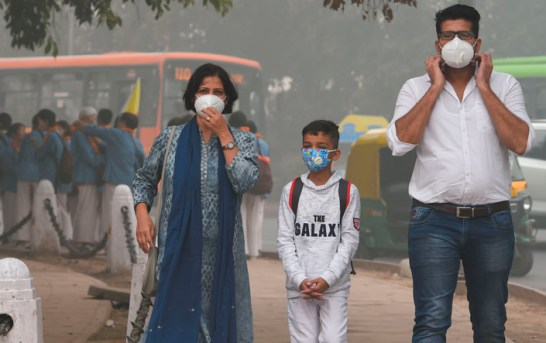 'Air Pollution In India Linked With Higher Risk Of Heart Disease,Stroke'