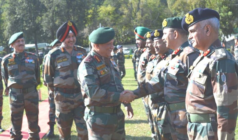 Army Chief Visits Northern Command, Asks Troops To Be Aggressive