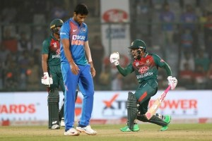 Bangladesh Choke India For Maiden T20 Win