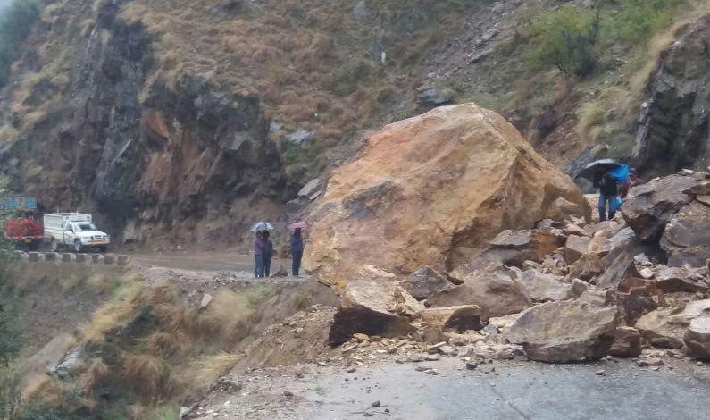 Kashmir Highway Shut For Second Day Due To Multiple Landslides