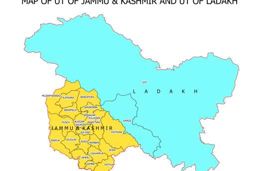 Pak Rejects 'Incorrect, Legally Untenable' Fresh Map Issued By India