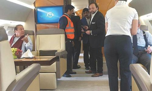 Nawaz Sharif Arrives In UK For Medical Treatment