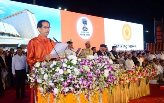 Thackeray Sarkar: Uddhav Sworn In As Maha CM, 6 Ministers Take Oath