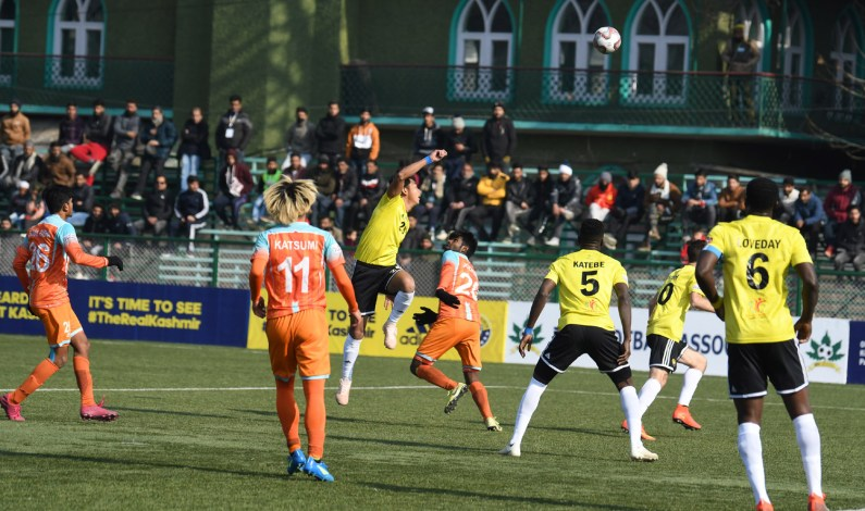I-League: Real Kashmir Beat Chennai City To Post First Win Of Season