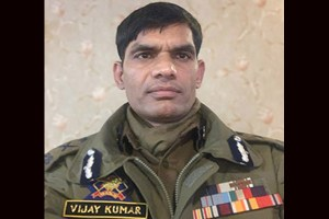 Vijay Kumar Is New IGP Kashmir