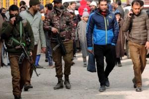 Grenade Blast on Nallamar Road in Old Srinagar