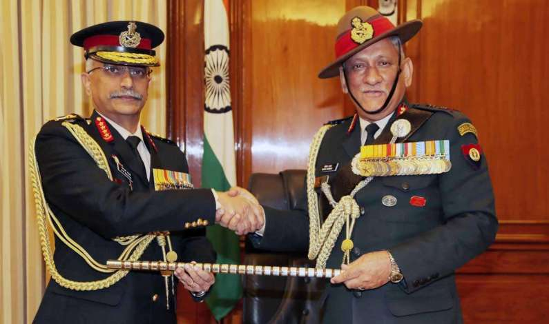 General Naravane Takes Over As New Army Chief