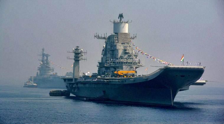 India Deploys INS Vikramaditya In Arabian Sea Amid China-Pak Drill
