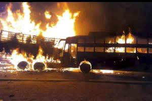 Kannauj: Sleeper Bus Goes Up In Flames, 20 Passengers Burnt Alive