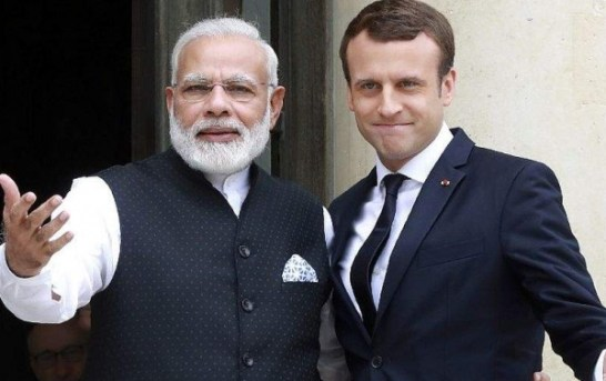 Paris Following Kashmir Situation, Macron Calls Modi