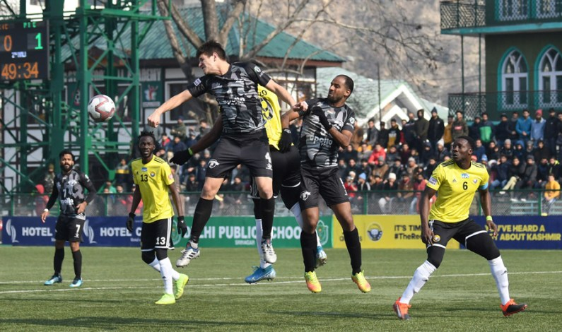 Real Kashmir Play Out 1-1 Draw With Punjab FC