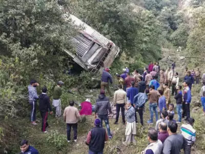 9 Dead In Rajouri Road Accident