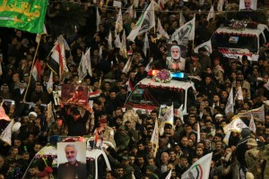 Thousands Mourn Soleimani In Baghdad