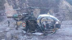 Army Chopper Crashlands In Reasi, Pilots Safe