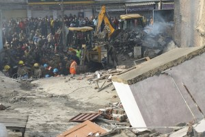 Building Collapses In Jammu, 3 Firemen Killed