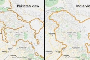Kashmir Is Disputed For Google Outside India