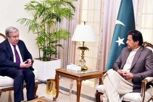 Imran Khan Discusses Kashmir With Visiting UN Chief