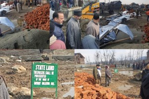 Srinagar Admin Begins Retrieval Of Encroached Parts Of Khushalsar Lake