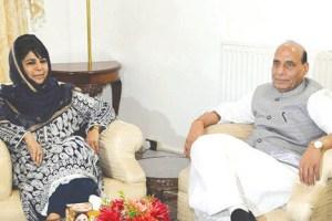 I Pray For Mehbooba, Abdullahs Early Release: Rajnath
