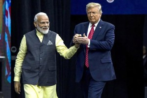 Trump Says 'Friend' Modi Told Him Millions Would Welcome Him In India