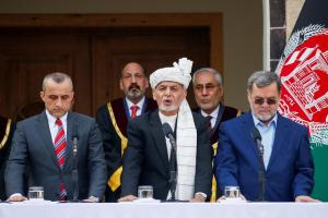 Afghan Presidential Rivals Hold Parallel Inauguration Ceremonies