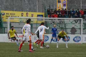 I-League:East Bengal Scrape Past Real Kashmir In Ill-Tempered Clash