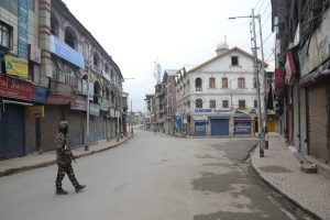 Govt Orders Kashmir Shutdown Till March 31