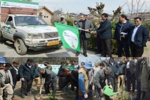 Govt Starts Massive Plantation Across Srinagar