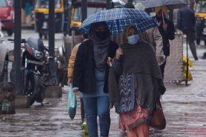 Mercury Dips After Rain, Snowfall In Valley