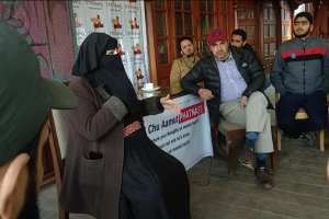 Amid Pandemic, This Survivor is Becoming Kashmir's Mental Help