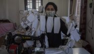 Kashmiris Make Own Masks To Battle Shortage Of Protective Gear